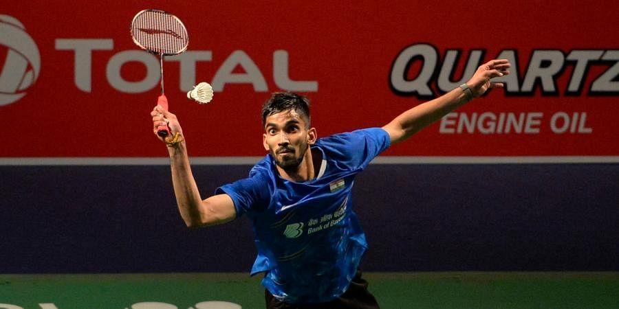 Badminton world number 12 Kidambi Srikanth