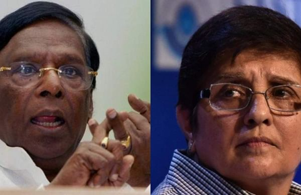 All parties in Pondy upset with the Bedi-Narayanasamy tussle?