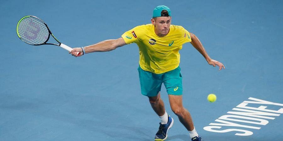 ATP world number 21 Alex de Minaur