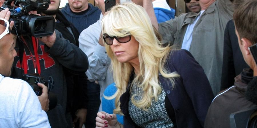 Lindsay Lohan's mother Dina Lohan