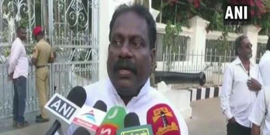 Congress MLA Dhanavelu