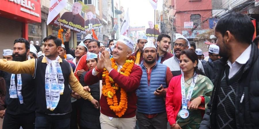 Manish Sisodia will file his nomination from Patparganj assembly.
