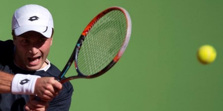 Britain tennis star Liam Broady
