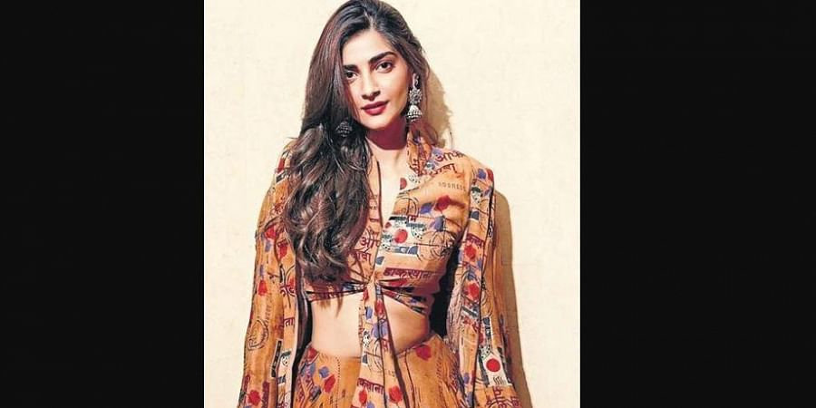 Sonam Kapoor wears one of the designs from the collection