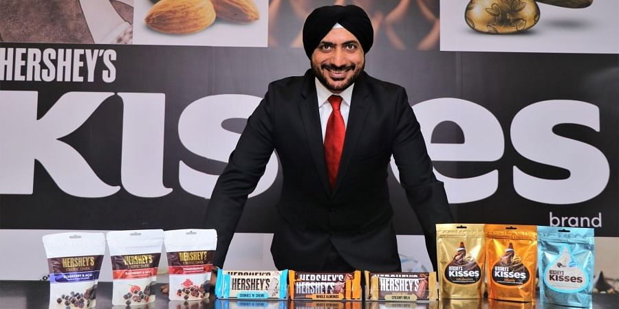 Hershey's India MD Herjit Bhalla