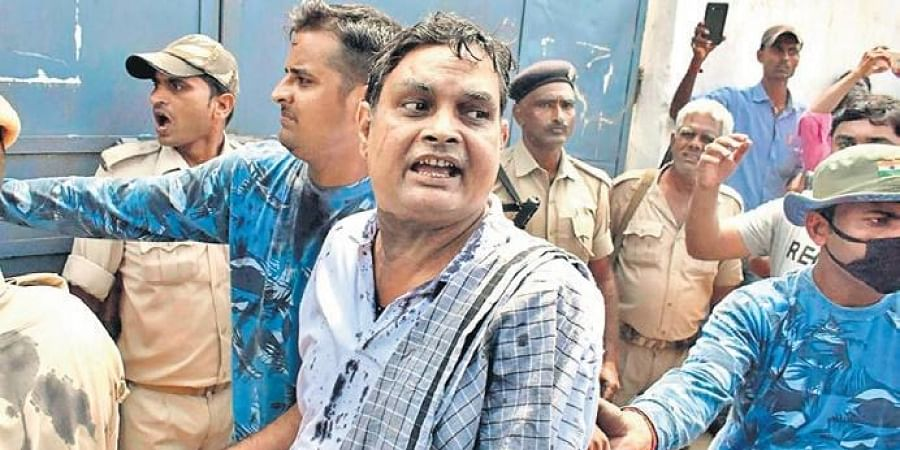 Brajesh Thakur is the prime accused in the case involving the alleged sexual assault on 30 minor girls in a shelter home in Muzaffarpur