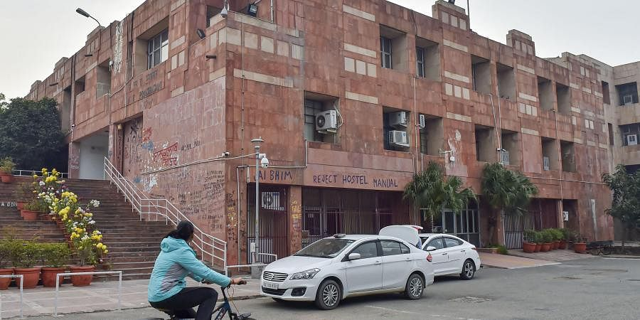 Admin block of JNU Campus in New Delhi. (Photo | PTI)