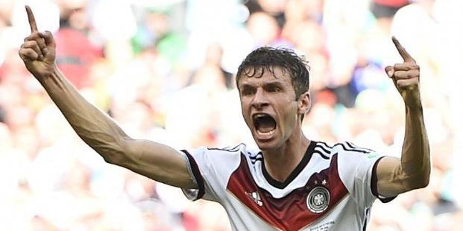 Germany forward Thomas Mueller