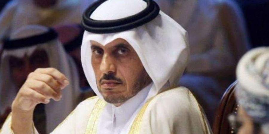 Qatari premier Abdullah bin Nasser bin Khalifa Al-Thani