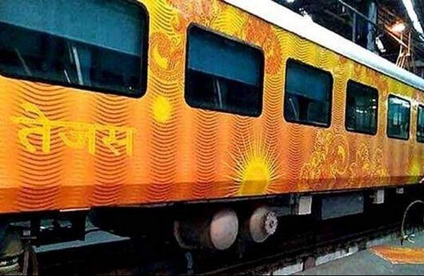 Gujarat CM Vijay Rupani flags off Ahmedabad-Mumbai Tejas Express