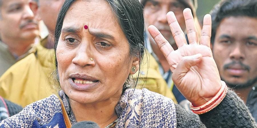 Nirbhaya case victim's mother.