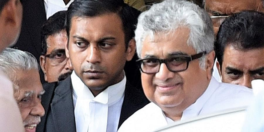 Senior advocate Harish Salve