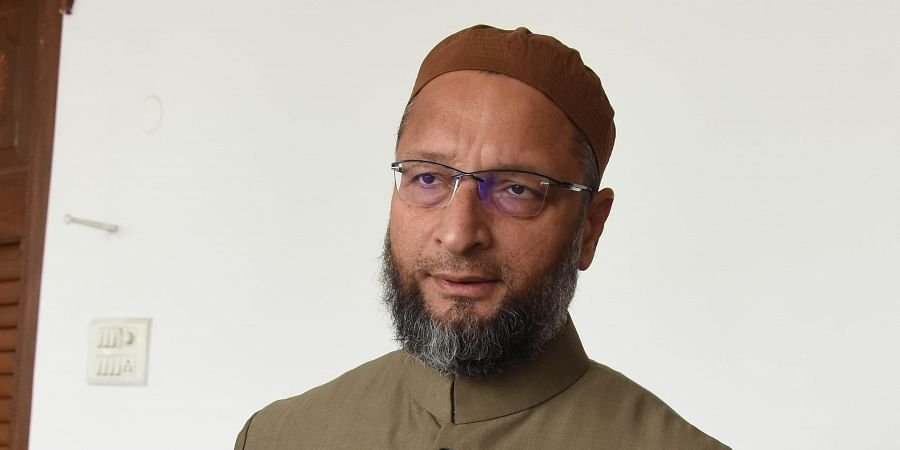 AIMIM president and Hyderabad MP Asad Uddin Owaisi. (Photo | RVK Rao/EPS)