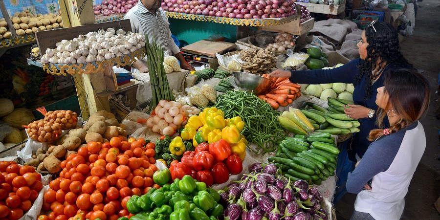 Vegetables, inflation