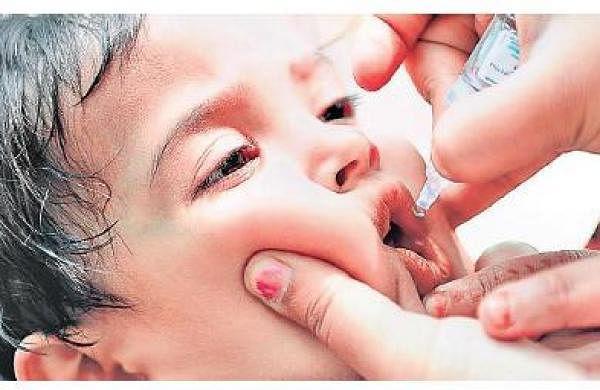 Pulse polio immunisation drive from Sunday