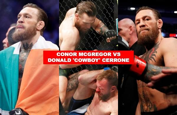 Conor McGregor made a triumphant return to the UFC octagon on Saturday, pummelling Donald 'Cowboy' Cerrone for a technical knockout victory in just 40 seconds.