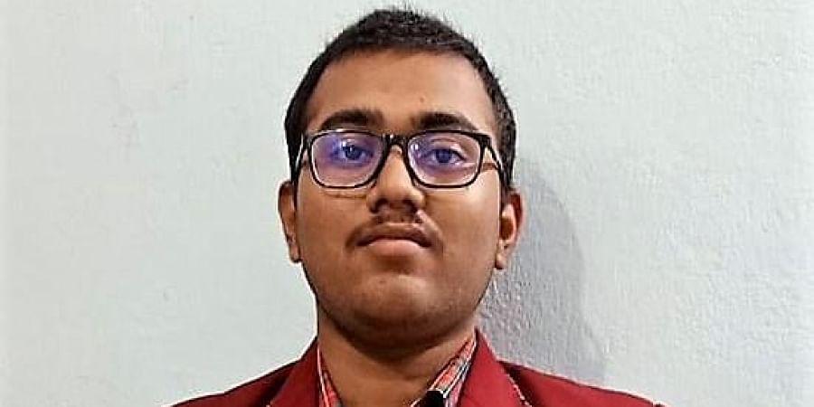 JEE (Mains) 2020 topper Sourabh Soumyakanta Das from Odisha