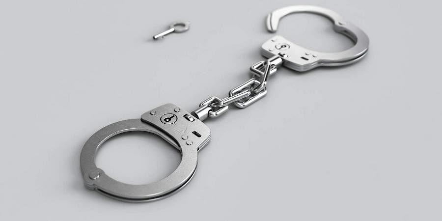 arrest, handcuffs, crime