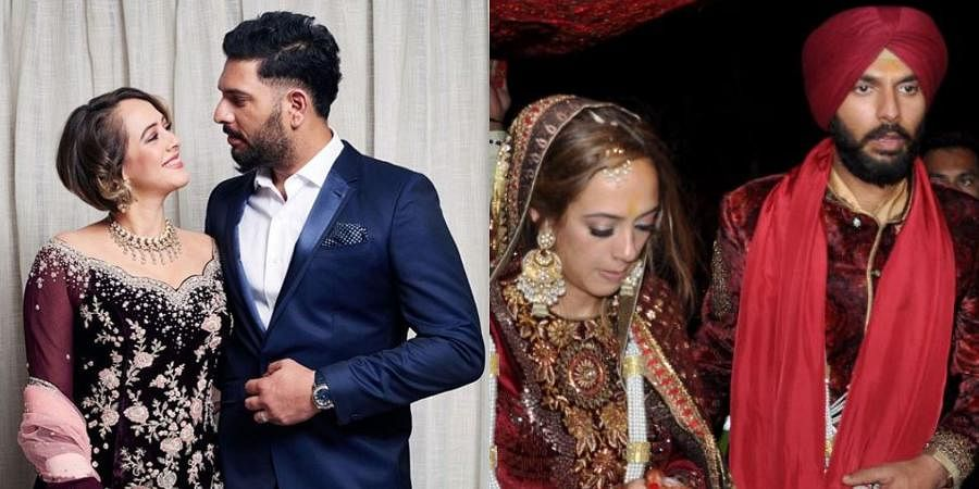 Former Indian cricketer Yuvraj Singh and model-turned-actress Hazel Keech exchanged wedding vows in 2016 at the spiritual dera of Baba Ram Singh Ganduan Wale in village Duffera on Sirhind-Chandigarh Road. After the 'Anand Karaj' ceremony, the couple got the blessings of Dera head Baba Ram Singh. The couple tied the knot at the venue which was chosen by Yuvraj's mother Shabnam Singh.
