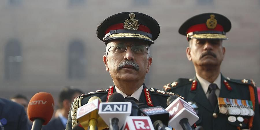 New Army chief General MM Narvane. (Photo | Arun Kumar P/EPS)