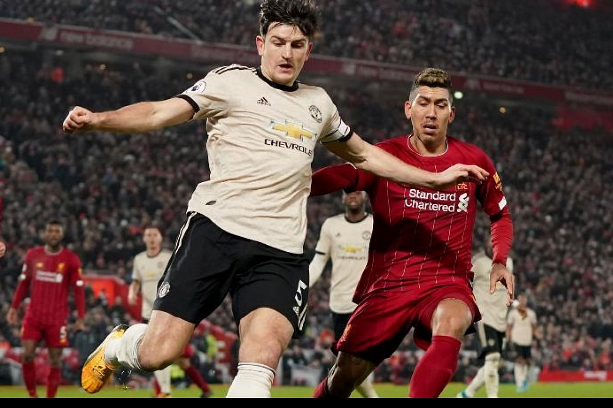 Manchester United Defender Harry Maguire Fails To Measure Up As Virgil Van Dijk Leads Liverpool Titl The New Indian Express