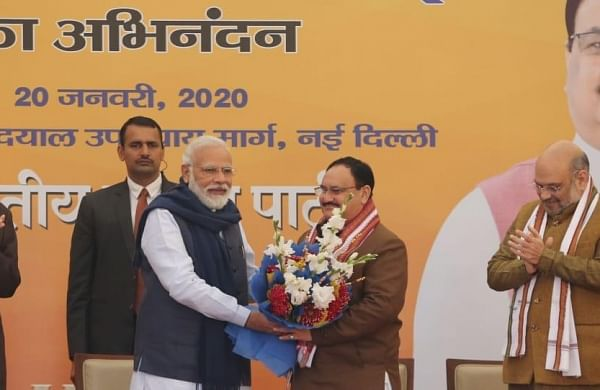Worker becoming president is speciality of BJP, says party president Nadda