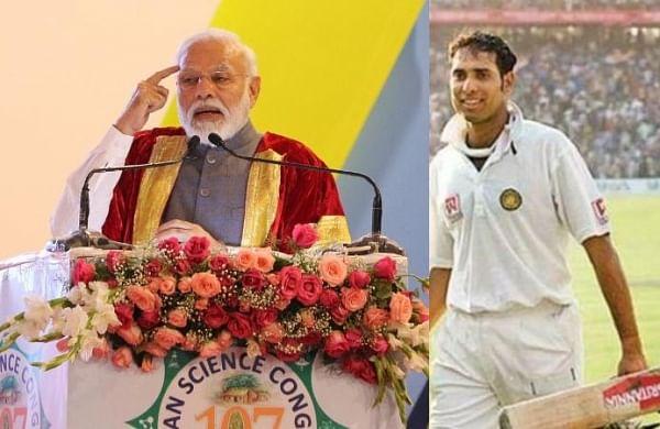 PM Narendra Modi cites VVS Laxman, Rahul Dravid's heroics to motivate students