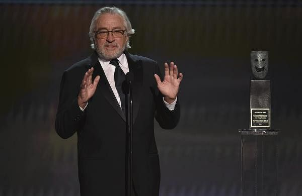 Robert De Niro calls out government's 'blatant abuse of power' during his Life Achievement Award speech at SAG awards