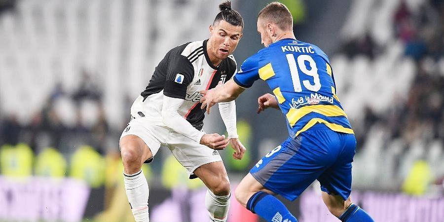 Juventus striker Cristiano Ronaldo