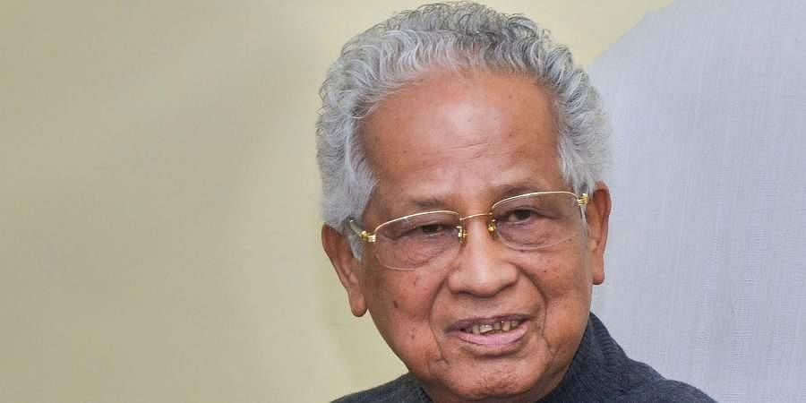 Former Assam CM Tarun Gogoi