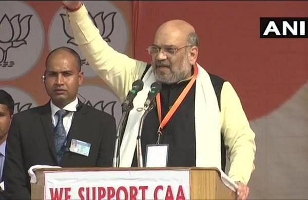 Won't budge on Citizenship Act despite protests, declares Amit Shah at Lucknow rally