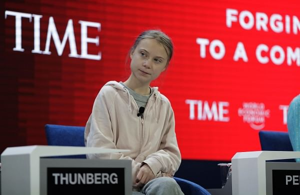 Lot has happened, but nothing has been done yet: Greta Thunberg at WEF