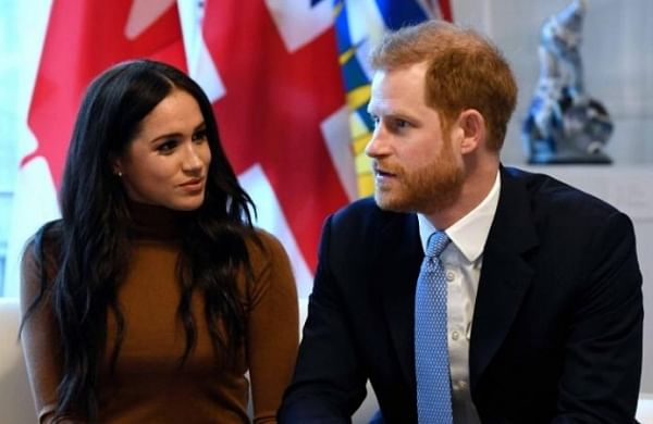 Prince Harry arrives in Canada to reunite with wife, son
