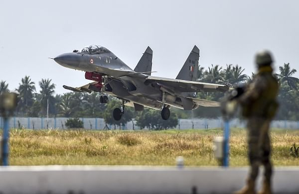 Sukhoi fighter aircrafts to secure the seas