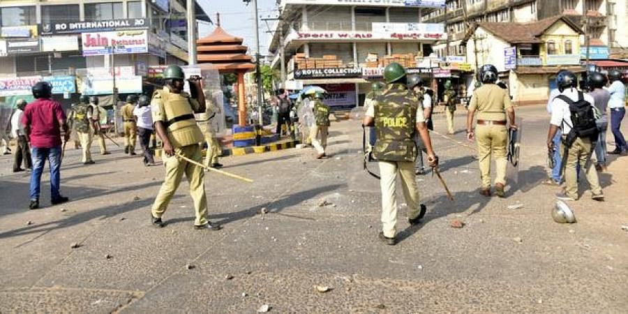 Mangaluru witnessed violence on Thursday after people took to streets protesting against CAA.