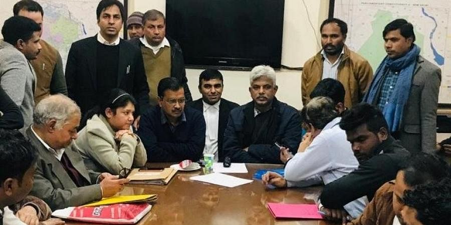 Token number 45: No pehle 'AAP' for CM Kejriwal as he files nomination after six-hour wait...