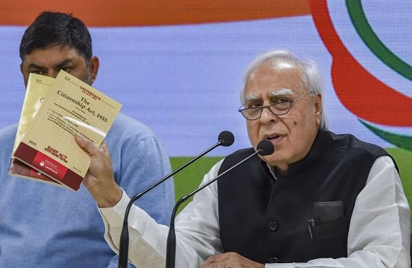 Modi government spreading falsehood on 'unconstitutional' CAA: Kapil Sibal