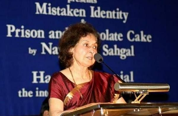 This regime's doings are no surprise: Nayantara Sahgal on name changing of Uttarakhand rail stations