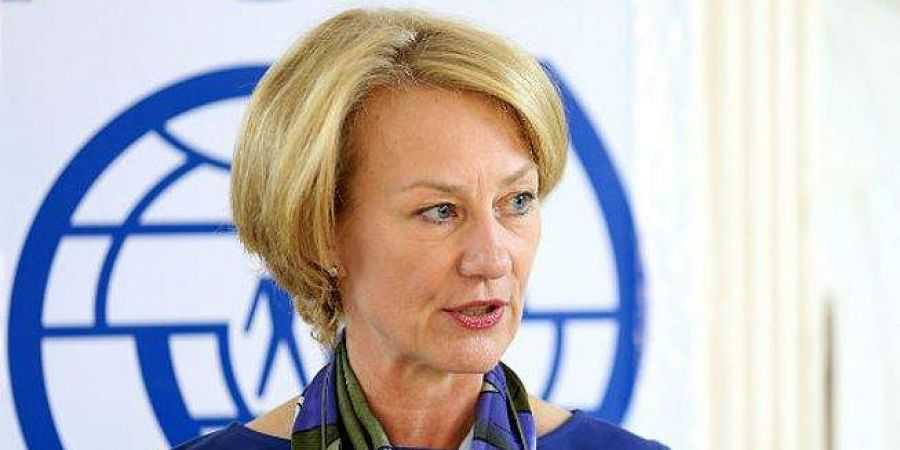Alice Wells, Senior Bureau Official in South and Central Asia wing of State Department.