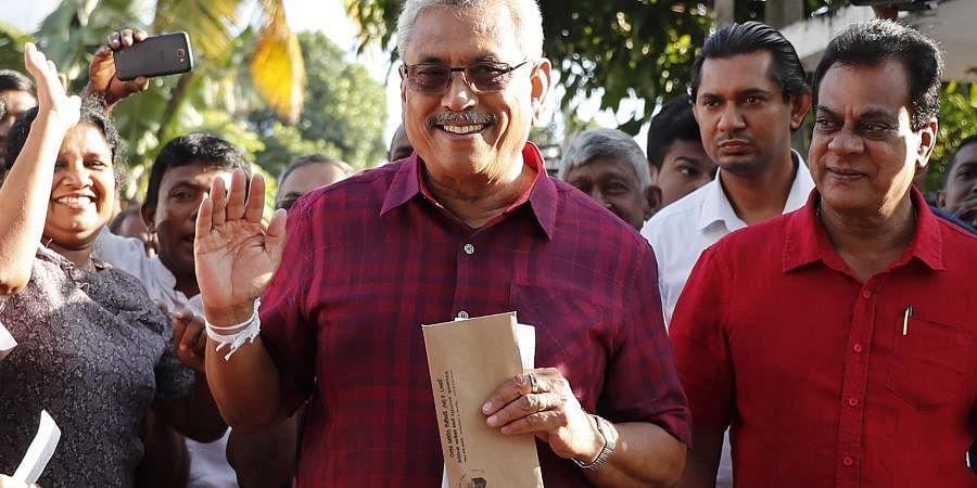 Gotabaya Rajapakasa, Sri Lanka