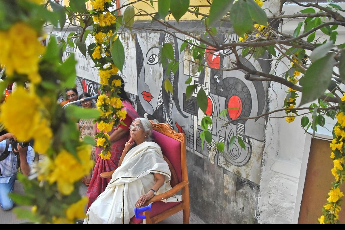 Celebrating 86 years under the caper tree- The New Indian Express