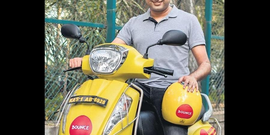 Scooter sharing service provider Bounce.