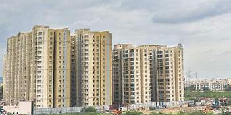 real estate, apartments, buildings