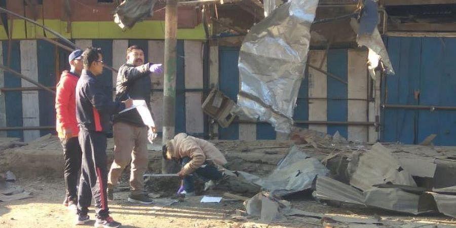 Manipur blast