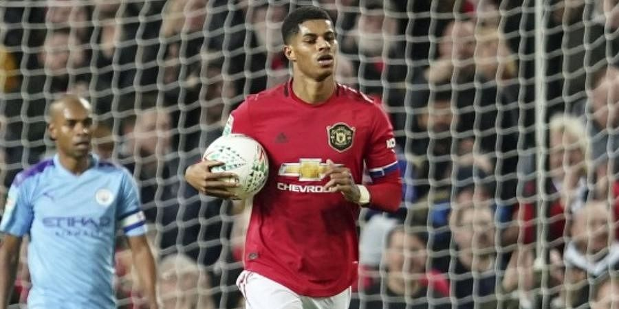 Manchester United Striker Marcus Rashford Targets Rapid Return To Fitness After Back Injury The New Indian Express