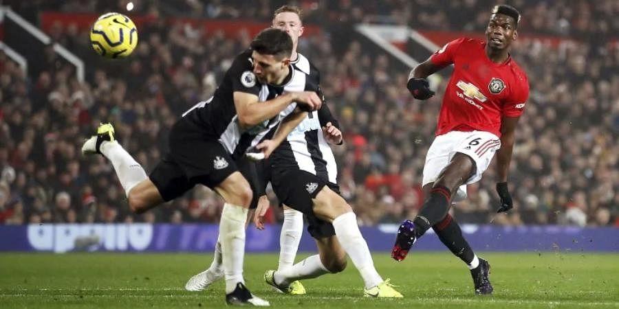 Manchester United striker Paul Pogba