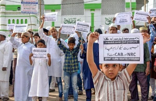 Two AMU students booked under child welfare act for using minors in anti-CAA stir