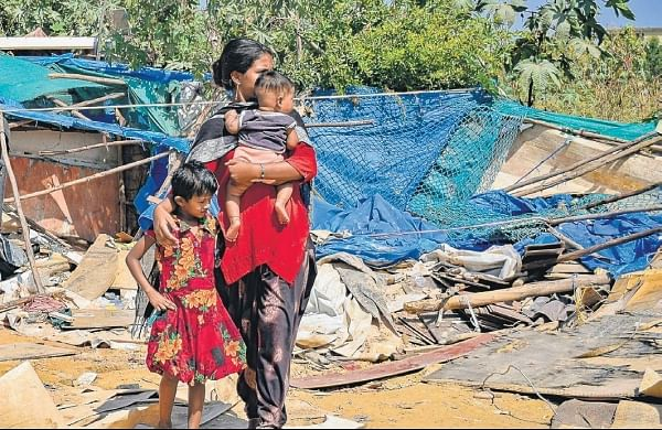 Bengaluru shed demolitionmay have chased away suspected 'illegal immigrants'