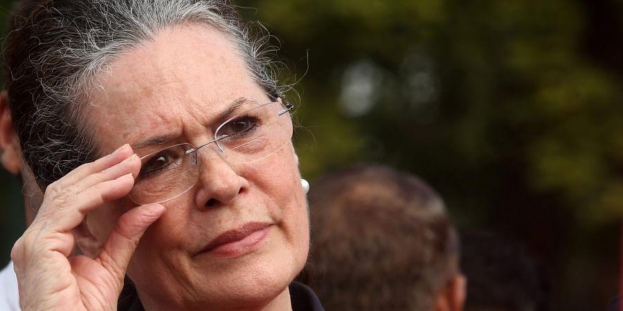 Congress interim President Sonia Gandhi