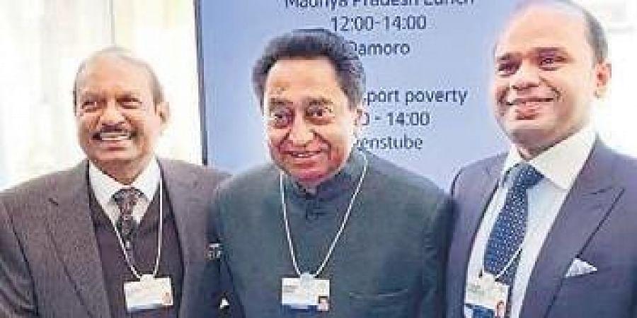Kamal Nath is in Davos to woo investors